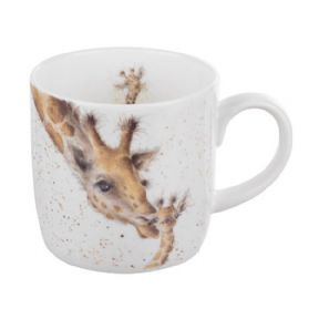Wrendale First Kiss Giraffe Mug